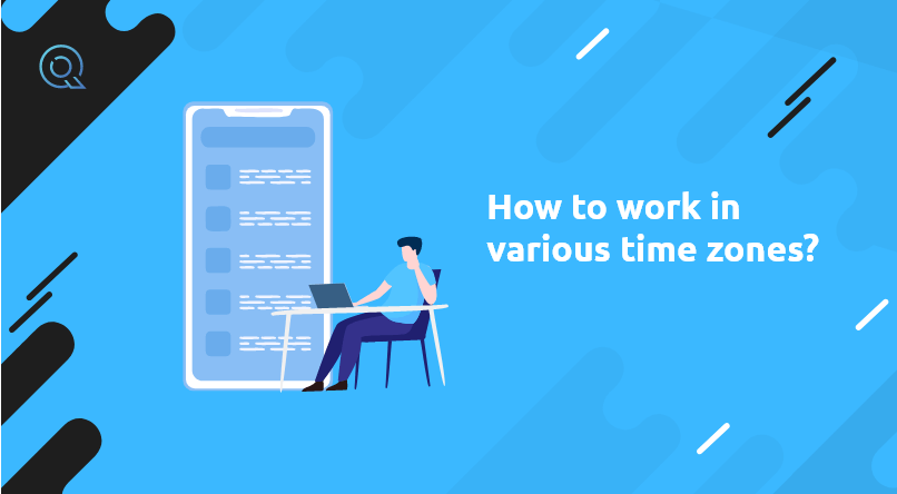 How to work in various time zones?