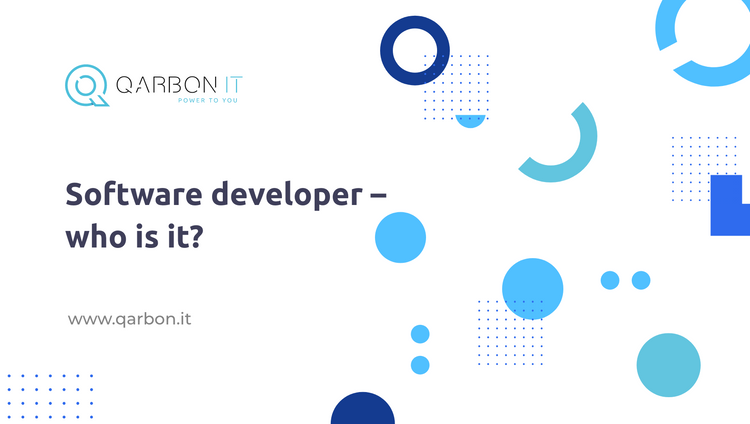 software developer- who is it?
